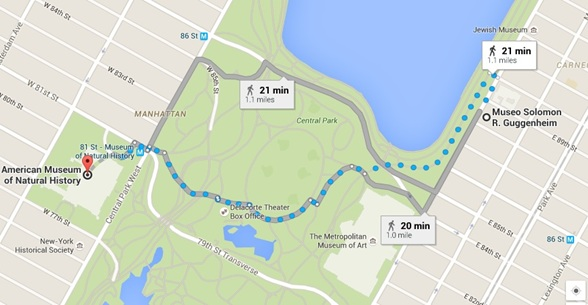 ruta 1 central park blog