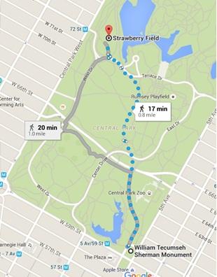ruta 2 central park blog